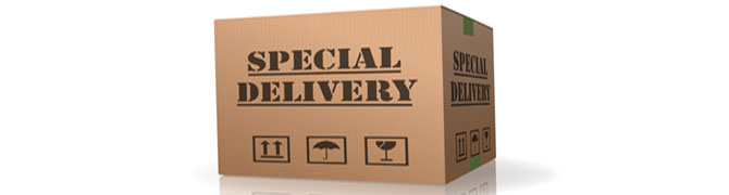 Special Delivery Important Shipment